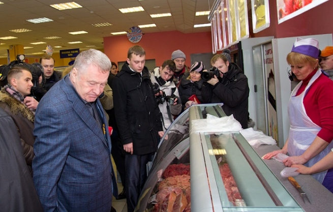 Владимир Жириновский сравнил «Ашан» и «Пятерочку» с мафией