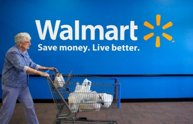 Walmart дешевел на $1 млрд в минуту