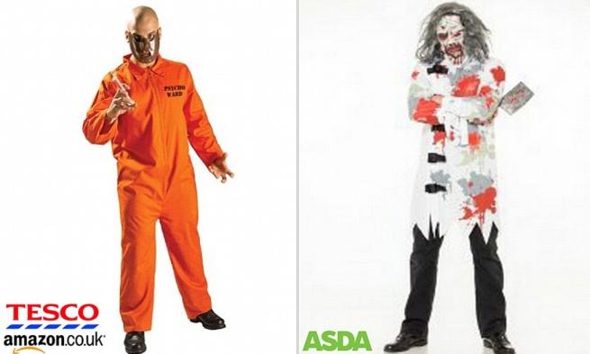 Костюмы «душевнобольных» на Хэллоуин спровоцировали скандал в Великобритании
