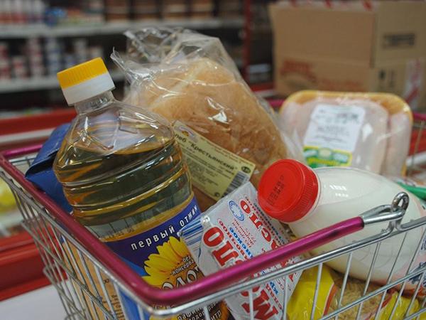 В Челябинской области цены на продуктовый набор заметно упали