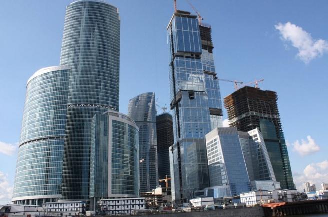 Более половины офисных площадей Москвы находятся в центре города