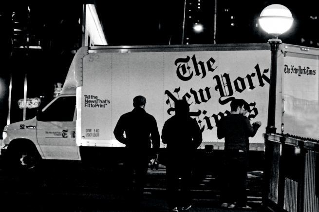 New York Times будет доставлять своим читателям продукты