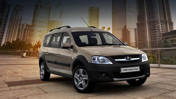 Серийное производство Lada Largus Cross начнется в феврале 2015 года