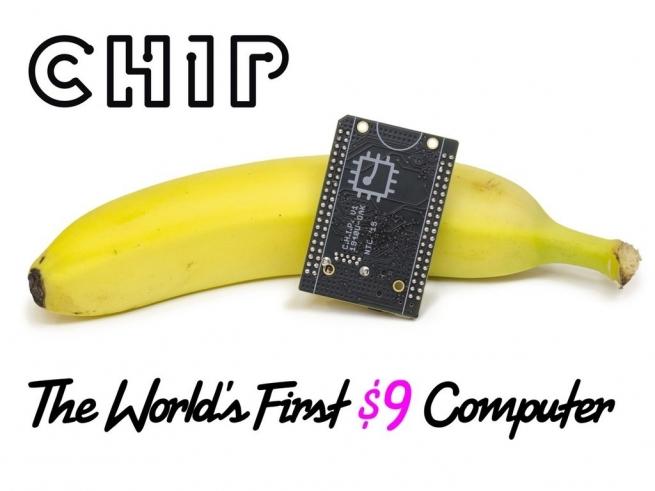Микрокомпьютер C.H.I.P. за $9 собрал $2 млн пожертвований