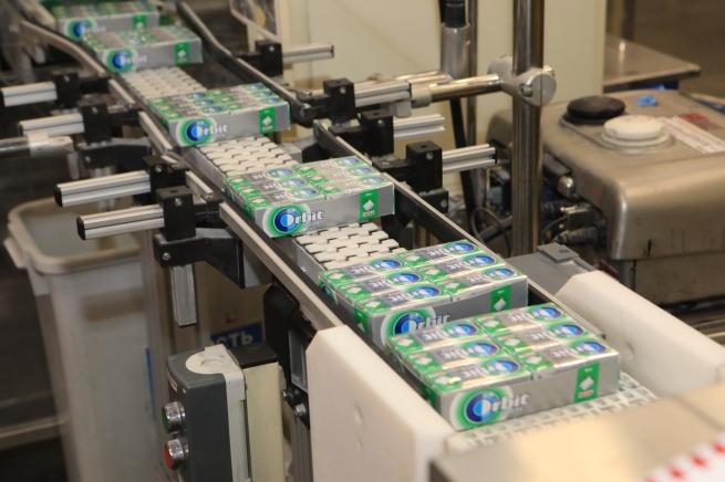 Компания Wrigley начала производство новой жевательной резинки