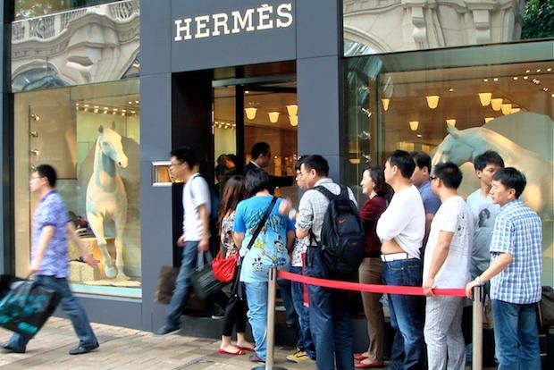 Китай заинтересовался европейским шоппингом