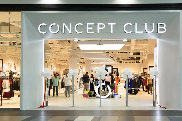 Concept Club открыл fashion-супермаркет для всей семьи