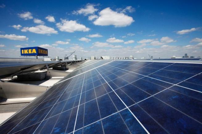 IKEA начинает продажу солнечных батарей в Великобритании