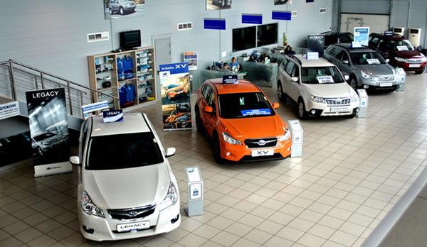 Объем продаж автомобилей в Екатеринбурге снизился на 29% в январе