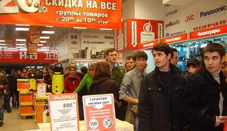В России рекордные продажи электроники могут смениться рекордным падением