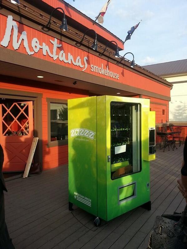 В США появился первый вендинговый автомат с марихуаной
