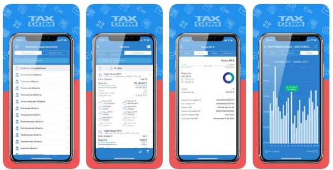 Мобильный помощник ОФД «Такском» – приложение для работы с онлайн-кассами