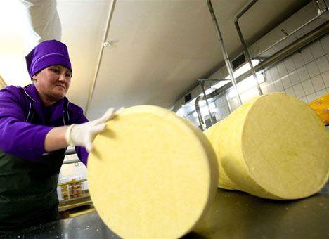 Россия возобновила поставки украинского сыра