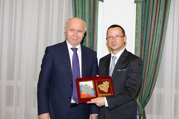 Губернатор Самарской области и президент компании «Балтика» обсудили вопросы сотрудничества