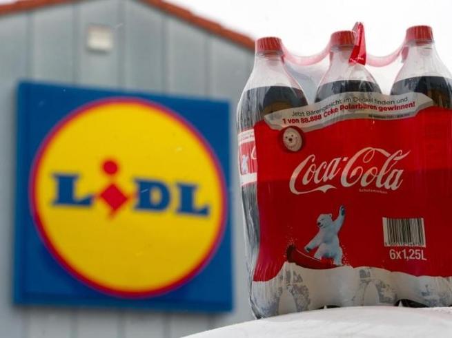 Немецкая сеть Lidl отказалась от Coca-Cola