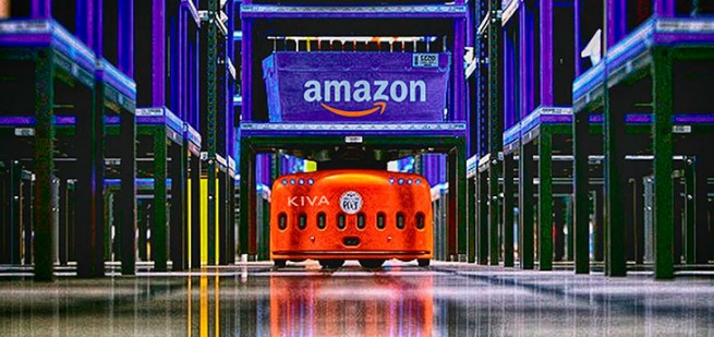 Amazon начала заменять дорогостоящих менеджеров роботами