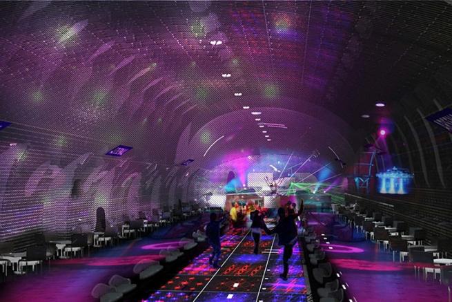 На заброшенных станциях парижского метро откроются рестораны
