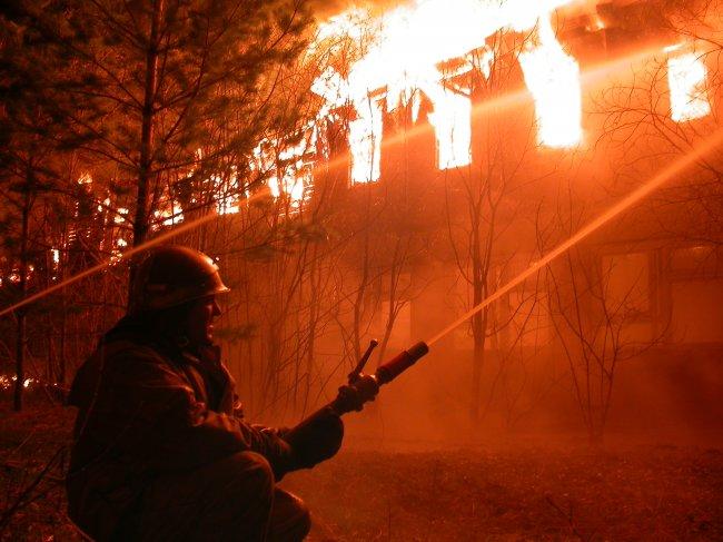 В Санкт-Петербурге горел торговый центр