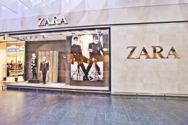 В магазинах Zara появятся контейнеры для старой одежды