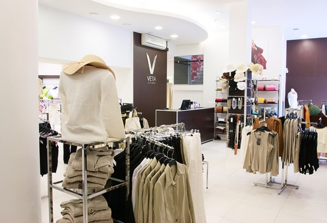 В России откроется первый магазин модной марки Veta