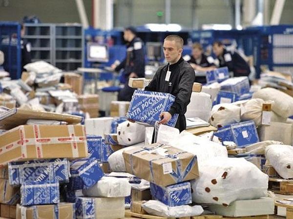 «Почта России» увеличила число доставленных посылок на 38% в 2014 году