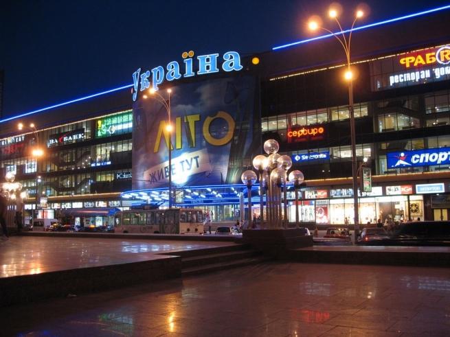 Киев испытывает дефицит районных торговых центров