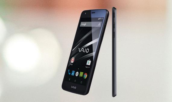 Компания VAIO показала свой первый смартфон