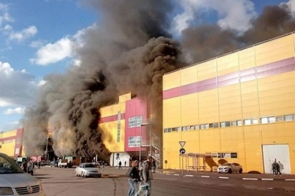 ТЦ «Синдика» сгорел из-за поджога