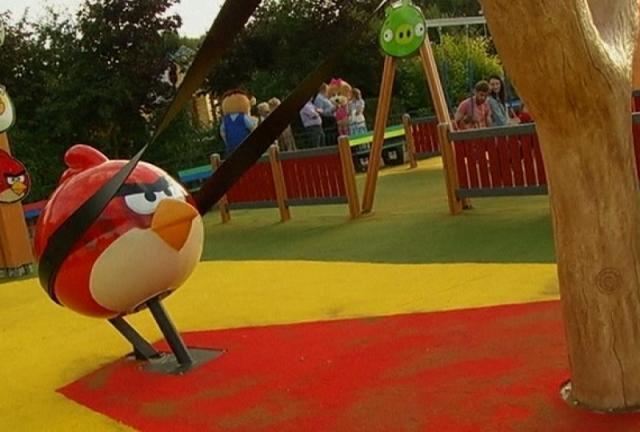 Открытие парка аттракционов Angry Birds в Санкт-Петербурге отложили на 2015 год