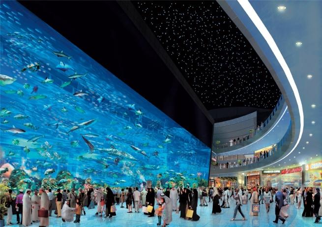Дубайский ТРЦ за год посетили 75 миллионов человек