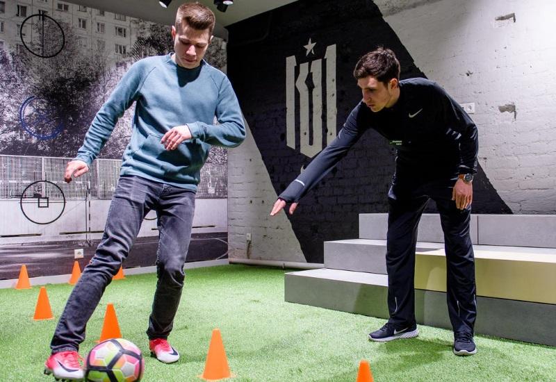 В столице России открылся пятиэтажный магазин Nike