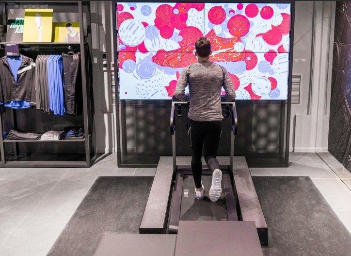 В столице России открылся флагман Nike вновом формате