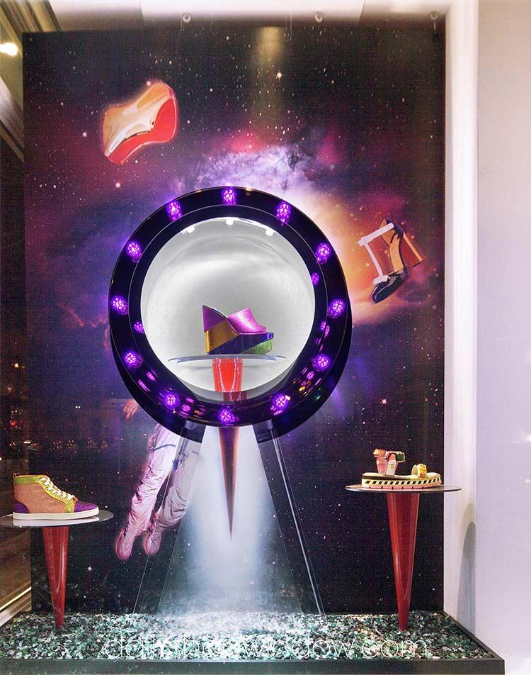 Самые стильные витрины мира: рекламные постеры и плакаты – двигатель