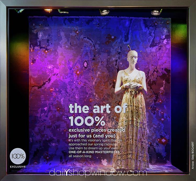 Самые стильные витрины мира: высокое искусство от знаменитых художников