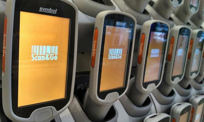 Оплата переносными сканерами