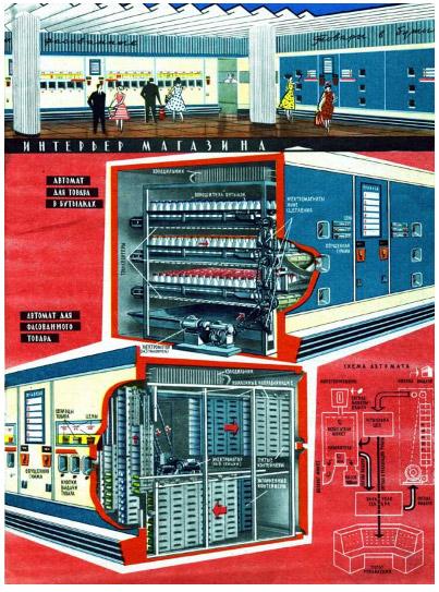 Магазин-автомат «Прогресс»: сказочные технологии в советском ритейле