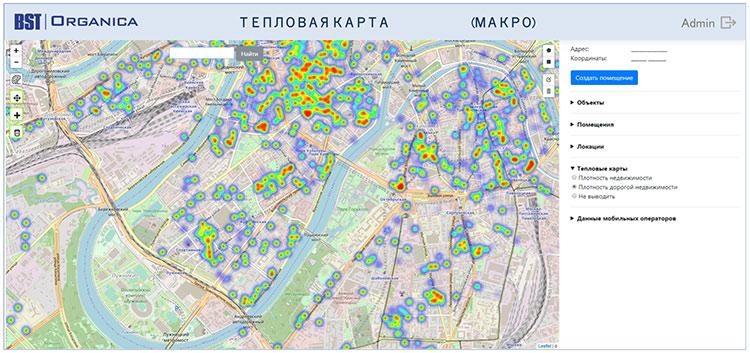 BST-Органика: как успешно управлять открытиями, найти лучшие места и построить оптимальную сеть торговых точек на территории?